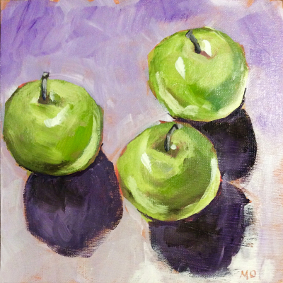 Little Green Apples - SOLD